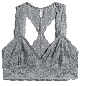 NWOT Free People Galloon Lace racerback bralette